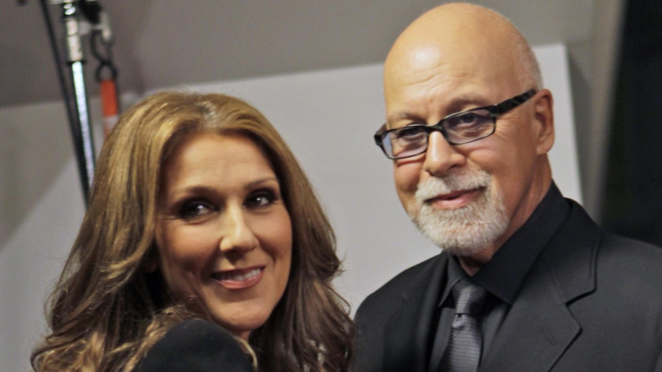Celine Dion returns to The Colosseum for Rene Angelil's