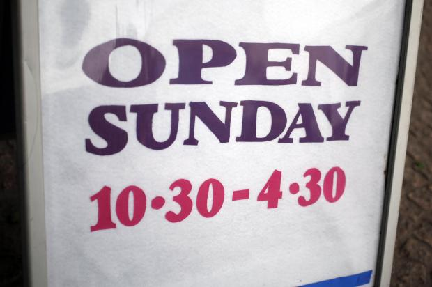 Government drops plans to extend Sunday trading hours
