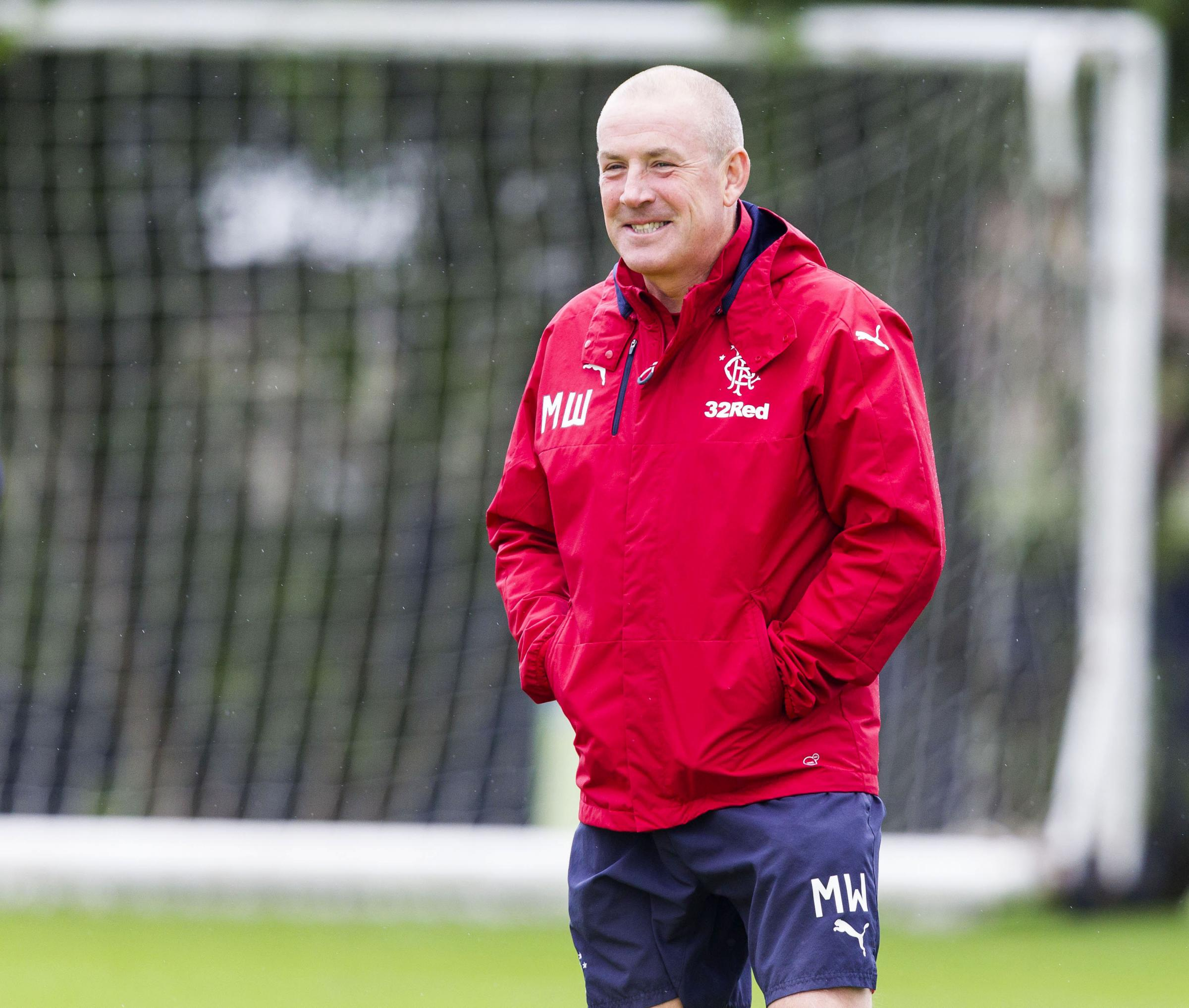 Rangers boss Mark Warburton rules out move for 20-goal striker