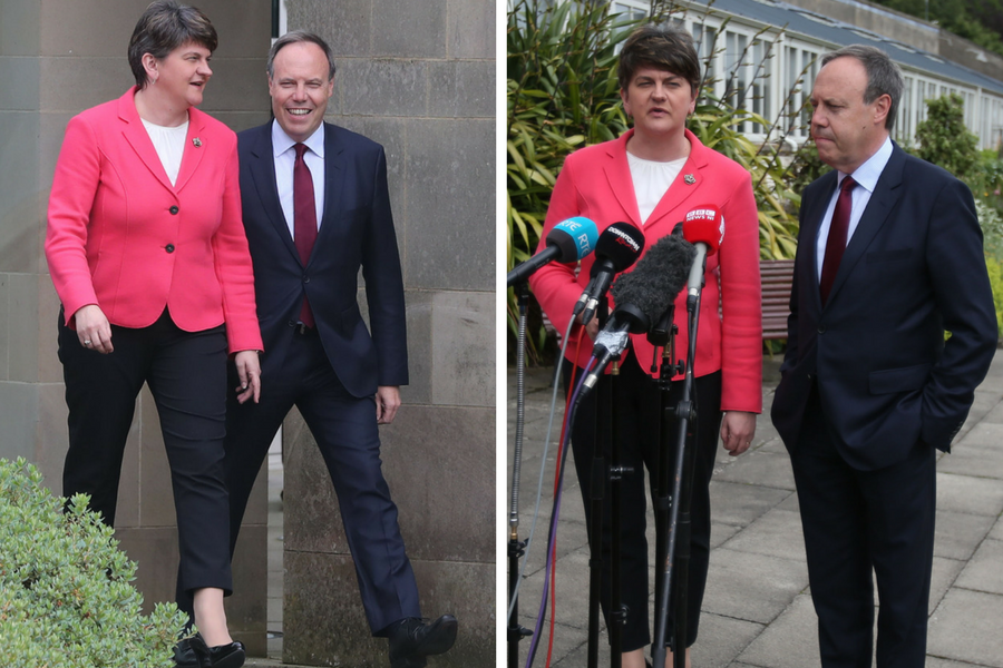 DUP leader slams 'hyperbole' over gay rights policy
