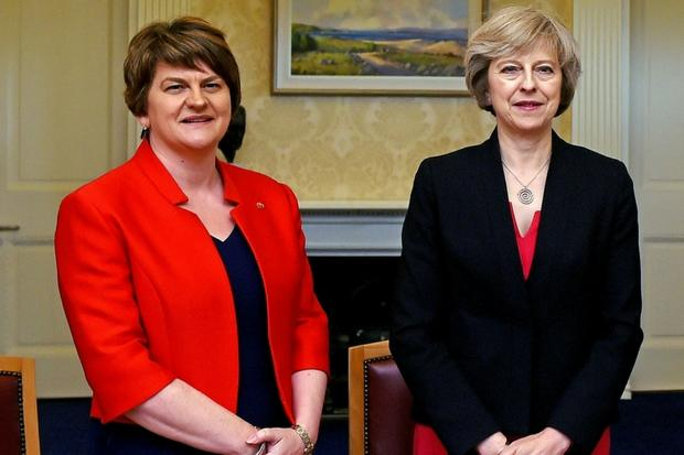 DUP warns Government confidence and supply deal is 'certainly not imminent'