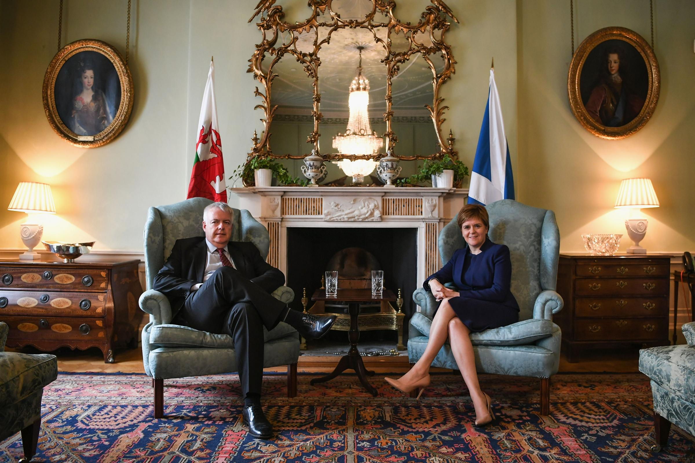 Sturgeon and Jones to work together on halting Brexit repeal bill 'power grab'