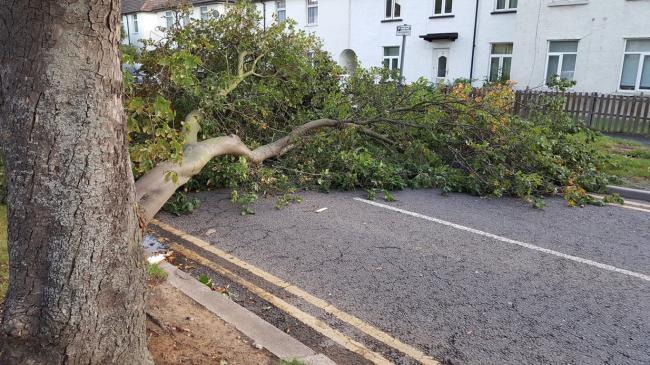 Storm Caroline heads for Britain