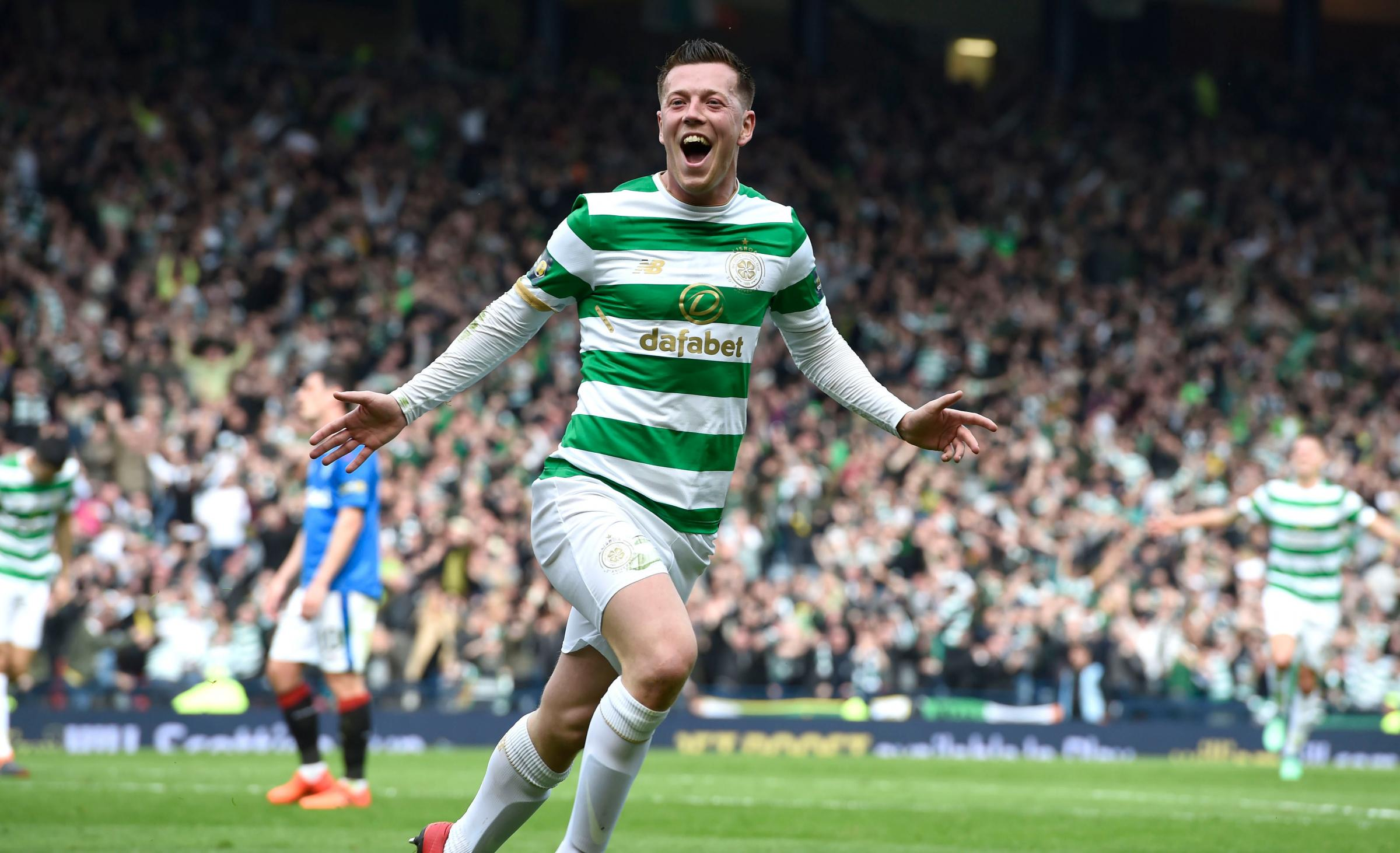 Celtic demolish 10-man Rangers to make Scottish Cup final