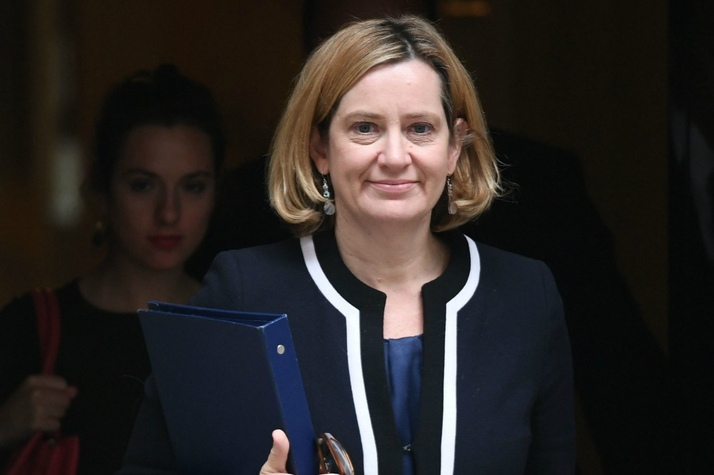 Amber Rudd returns to Cabinet after quitting over Windrush row