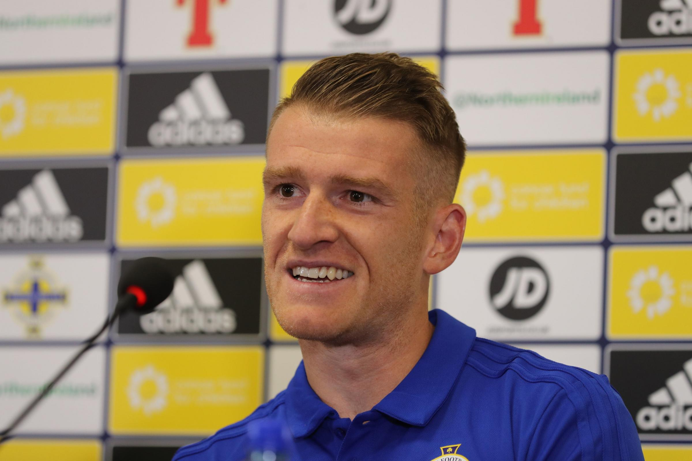 Eager Steven Davis Arrived At Training Camp In Advance of Rangers Team-mates